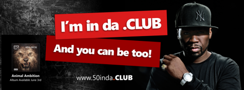50 Cent in the .CLUB