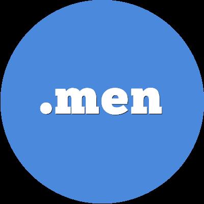 .men domain name registration