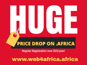 .AFRICA Domain Price drop