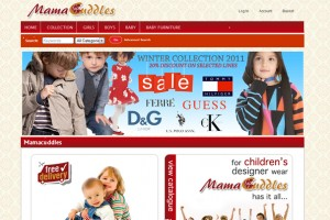 Mamacuddles web design by Web4Africa