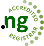 Web4Africa is an Accredited .ng domain registrar