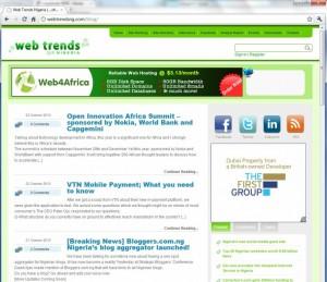 Web Trends Nigeria